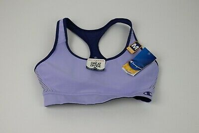 1c063ae960ebc Champion The Great Divide Wire Free Sports Bra Purple B7917 Size Medium -  NWT