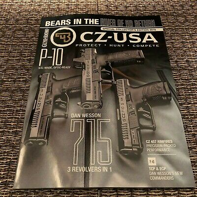 CZ USA / Dan Wesson 2018 Catalog From Shot Show 2018 New