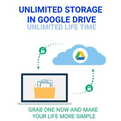 1+1 Unlimited For Google Drive In Existing Acc For Life Hyrry Upp Life Unlimited