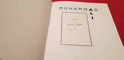 Rare book signed by Muhammad Ali:A Thirty Year Journey co-signed by Ali & author