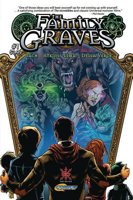 The Family Graves #1 - 1St Print - Source Point Comics -  Boarded  Free Uk P+P