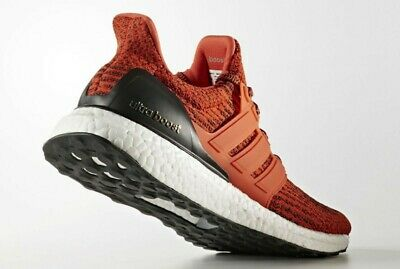 6ff67feed87 Adidas Ultra Boost 3.0 Energy Red Black Men s Size 7 S80635 NMD Yeezy