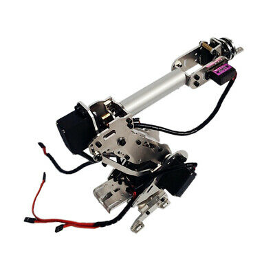Robotics Learning 6-Dof Alloy Mechanical Arm 6 Servos for Aruino Scientific