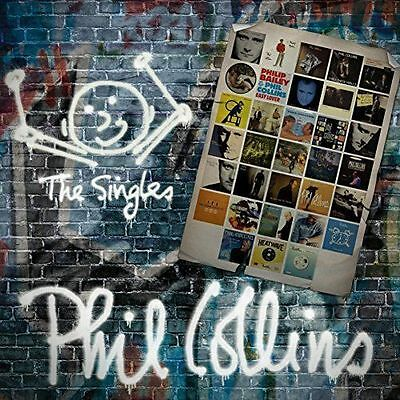 The Singles by Phil Collins (CD, Oct-2016, 2 Discs, Atlantic (Label))