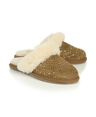b214deb8601 UGG AUSTRALIA SLIPPERS Girls Kids Youth Toddler Shoes Size 13 New In Box
