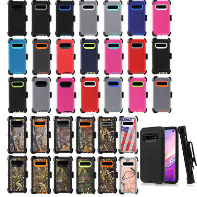 For Samsung Galaxy S10 S10 Plus S10e Case Clip Fits Otterbox Defender Series