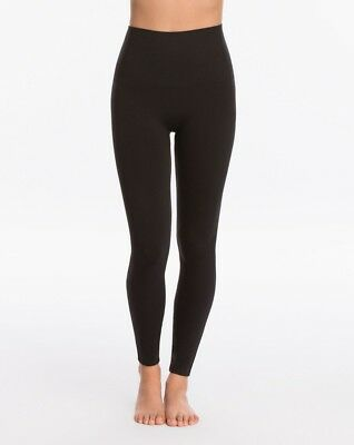 879d965d3 New Women s SPANX Black FL3515 Look At Me Now Seamless Leggings size L