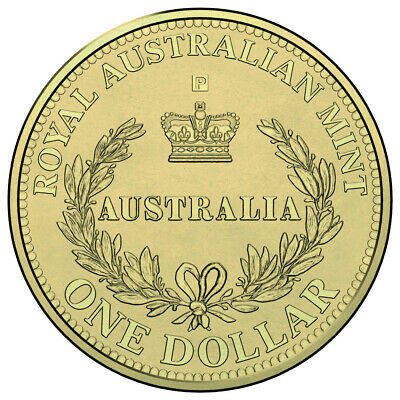 2016 $1 (One Dollar) 'p' Perth Privy Mark Australia's First Mint Unc Coin