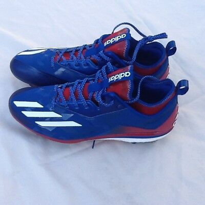 cedd4a4a87e0 ADIDAS BOOST Sample 2.0 KRIS BRYANT PE USA METAL BASEBALL CLEATS sz 13  BY3318