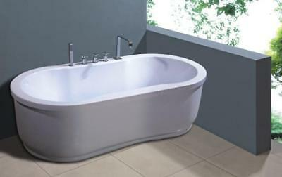 1 Person Free Standing Spa Bath 7 Massage Jets 1.0HP A037
