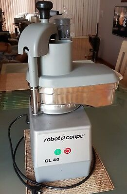 Robot Coupe Veg Prep Machine CL40 with slicer disc Commercial Kitchen