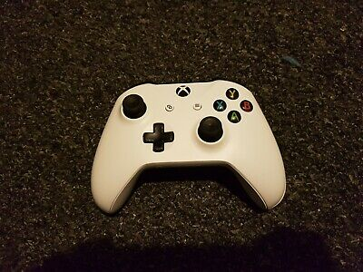Xbox One Microsoft Wireless White Controller
