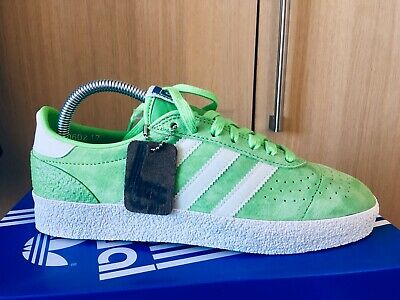 74240d7c5a1900 ADIDAS Munchen Super spzl spezial uk 7 white   green B41810 Brand New With  Tags
