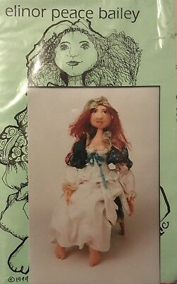 'anne Of The Celtic Mist' Doll Pattern By Elinor Peace Bailey 'uncut'