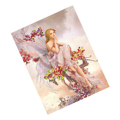 DIY Printed Cross Stitch Kits Angel Pattern Embroidery Home Wall Decoration