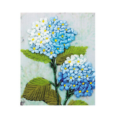 DIY Printed Cross Stitch Kits Flower Pattern Embroidery Home Wall Decoration
