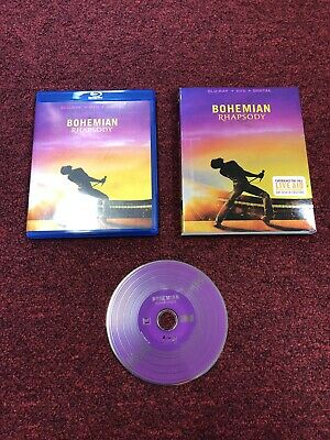 Bohemian Rhapsody (Blu-Ray, 2019) USED VGC BLU RAY ONLY L@@K