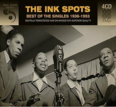 Ink Spots - Best Of The Singles Digitally Remastered 4 Cd New!
