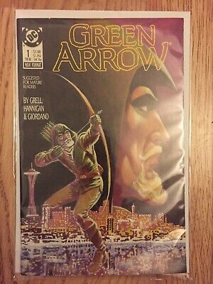 DC Comics. Green Arrow (Vol 1) # 1 - 17. Modern Age. Read Once and Stored