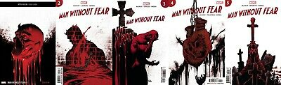 MAN WITHOUT FEAR 1 2 3 4 5 | 2019 Mini-Series Full Set Run NM 1st Pr Daredevil