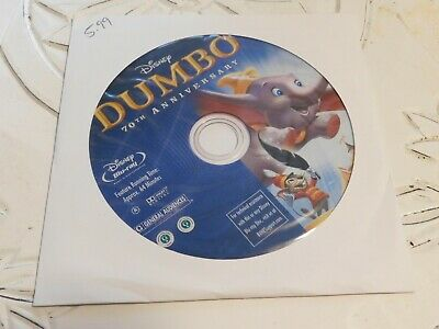 Dumbo (Blu-ray 2011, 70th Anniversary Edition)Disc Only 41-22