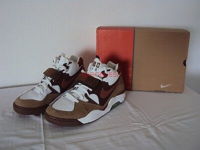 new style fd380 c1704 Original Nike Air Force 180 Mid Charles Barkley Desert 1044 New Box Year  2005