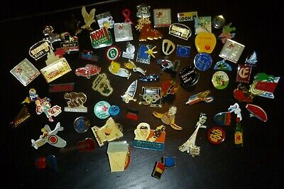 lot de 70 pin's sans attaches