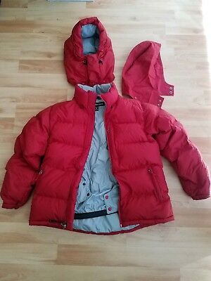 c13e16d769d6 Marmot Mountain Down Jacket Mens size Medium M Red 700 fill power down