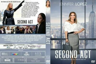 """""""second Act """" Dvd  Free Shipping Brand New Factory Sealed"""