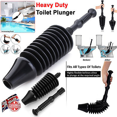Air Pump Drain Blaster Sink Plunger Bath Toilet Pipe Blockage Remover Unblocker