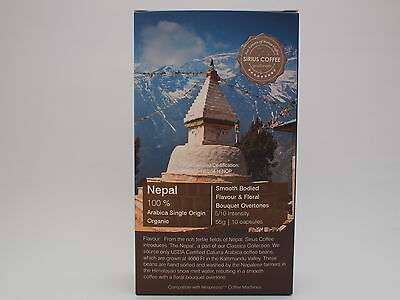 100 Sirius Coffee Capsules - The Nepalese