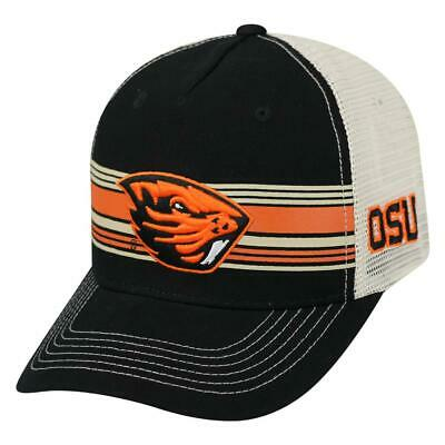 5a4818c9ccb98 OREGON STATE BEAVERS Trucker Hat Top of the World Sunrise Adjustable ...