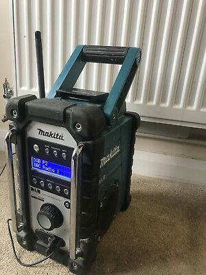 charger for MAKITA DMR104 DMR104W BMR104 BMR100W Job Site DAB Radio 3A battery