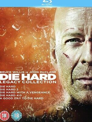 Die Hard: 1-5 Legacy Collection Blu-Ray (2013) 5 Disc Set BRAND NEW BLU RAY