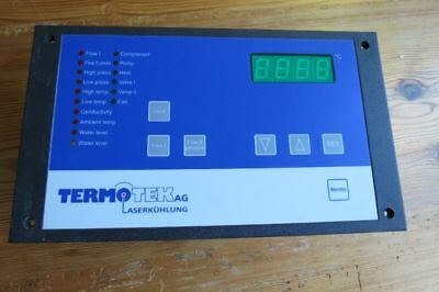 Display für Termotek Laserkühlung Version LNI1-034