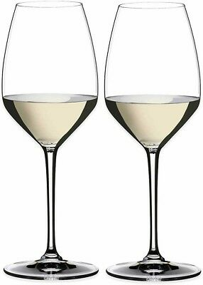 Riedel Premium Heart to Heart Crystal Riesling Wine Glass Set of 2 NEW