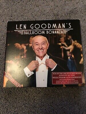 Len Goodman's Ballroom Bonanza -  CD HOVG The Cheap Fast Free Post The Cheap