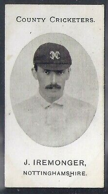 Taddy-County Cricketers Cricket 1907- Nottinghamshire - Iremonger