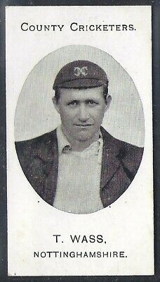 Taddy-County Cricketers Cricket 1907- Nottinghamshire - Wass