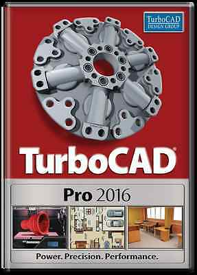 TurboCAD Pro 2016 - Professional CAD solution