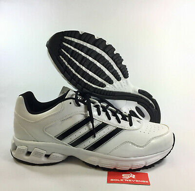 best service 44300 58871 NEW! 11 Men adidas Q32976 Falcon Trainer 3 Baseball Running White Shoes