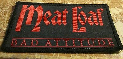Meat Loaf Collectable Vintage Patch  Woven  English Picture