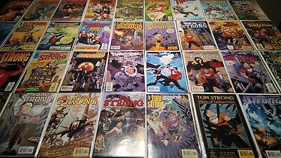 Tom Strong 1-36 NM to VF/NM 9.4 to 9.0 Complete Series