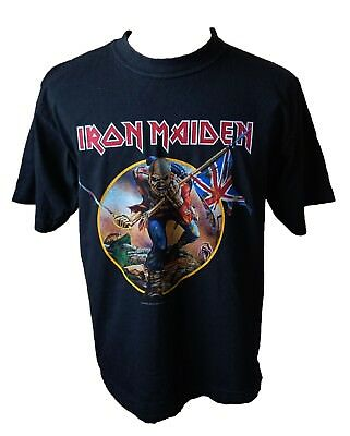 Iron Maiden Somewhere Back In Time World Tour 2008 T-Shirt Large. Eddie. NWOBHM