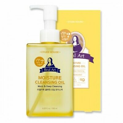 [ETUDE HOUSE] Real Art Cleansing Oil Moisture (3 options, without case)