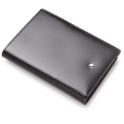 e4ec03e5c1 NEW MONTBLANC MEISTERSTUCK 7CC Wallet Black Leather With Box 7196 ...