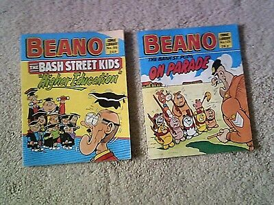 Vintage 1980s Beano Comics, Beano Comic Library Numbers 95 and 125