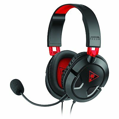 Turtle Beach Recon 50 Stereo Gaming Headset in Black & Red