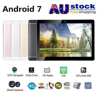 AU 10.1 Inch Tablet PC Android 7.0 Octa Core 4GB + 64GB Wifi Dual Camera