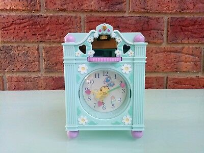 1991 Vintage Polly Pocket Fun Time Clock Bluebird Toys Playset Collectible